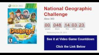 National Geographic Challenge Xbox 360 Countdown