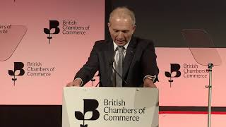 Rt Hon David Lidington MP speaks at BCC's Annual Conference 2019