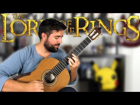 THE LORD OF THE RINGS: Concerning Hobbits Shire Theme  Classical Guitar