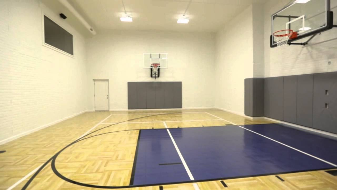 Falcone Homes Home Sports Court Multi Use Gym For