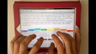 Guinness World Record for Touchscreen Typing - Alexander Graham Bell
