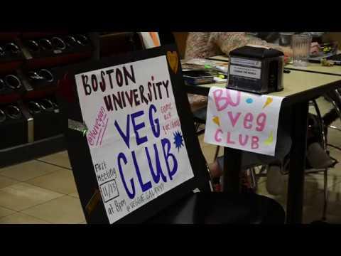 World Vegan Night at Boston University