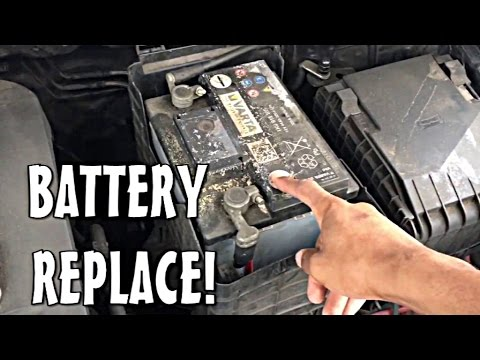 vw golf mk5 battery replacement also audi a3 skoda seat vag group vehicles youtube. Black Bedroom Furniture Sets. Home Design Ideas