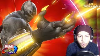 THEY LOOK AMAZING... - Marvel Vs Cacpom Infinite: Black Panther And Sigma Gameplay REACTION