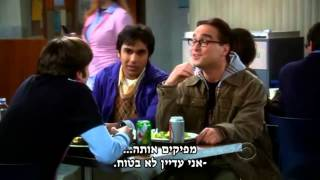 The Big Bang Theory - Sheldon & The Tapioca [HebSub] [HD]