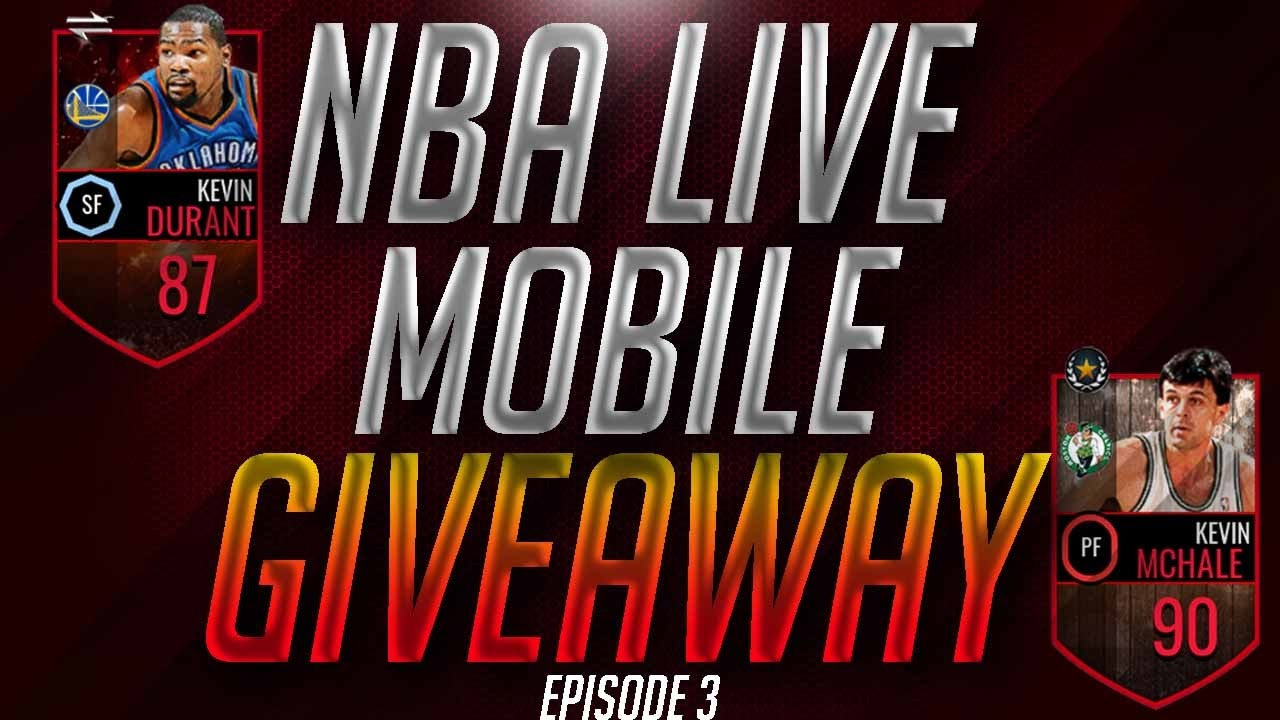 NBA LIVE MOBILE GIVEAWAY! - YouTube