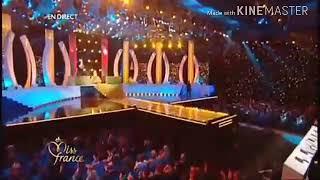 Miss France 2008 - Tableau des 5 finalistes en robe de soirée