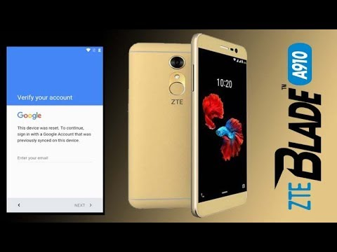 how to remove google account on zte phone