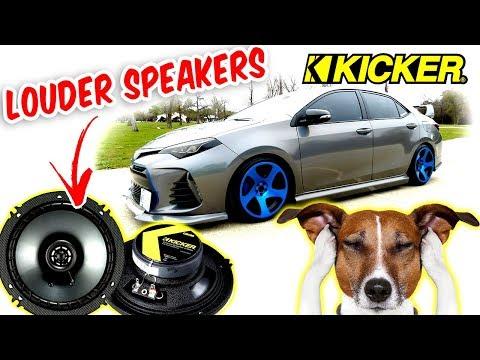 """$50 Door Louder Speakers UPGRADE Kicker 6.5"""" CSC65 300W"""