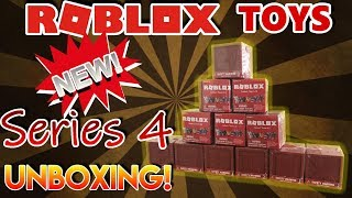 ROBLOX TOYS | NEW Series 4 Mystery Box UNBOXING!!!