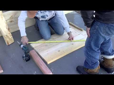 Make A Compost Bin Part 2 - Build The Divider Walls And Doors