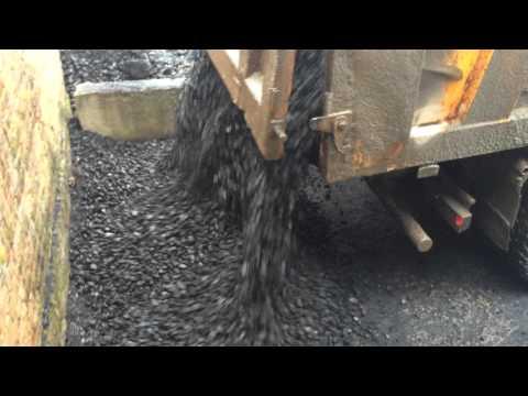 Черное золото!  Уголь каменный марки ДПКО (орех) Часть-1.