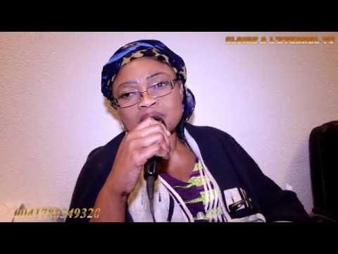 Maman Bikamua Kalanga muana Zaire se déchaine à Lausanne (CH)