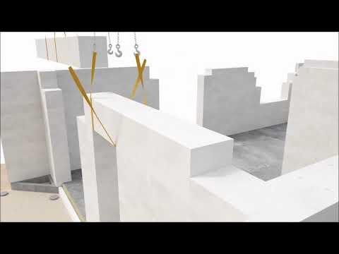 Bauroc blokeliai kompleksinis mūrinio namo sprendimas