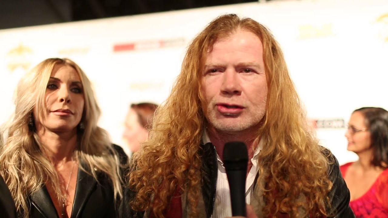 Interview with Dave Mustaine (Megadeth) - YouTube