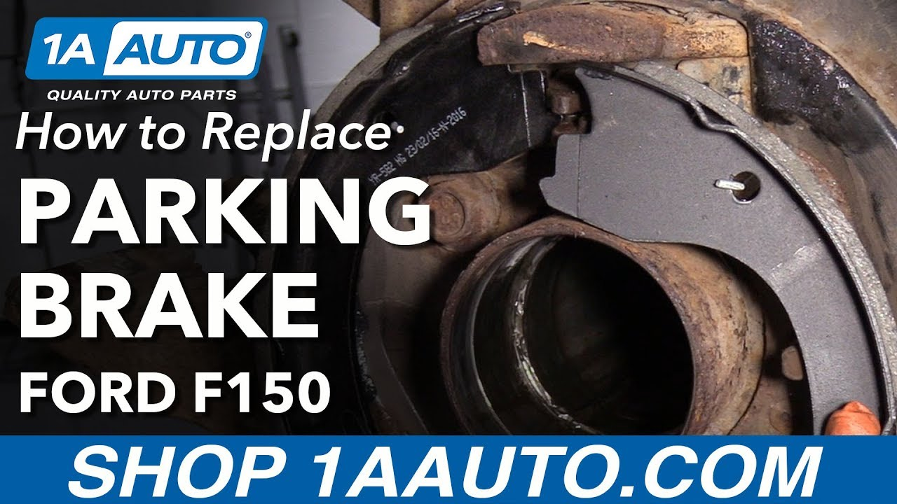 how to replace parking brake 09 14 ford f 150 [ 1280 x 720 Pixel ]