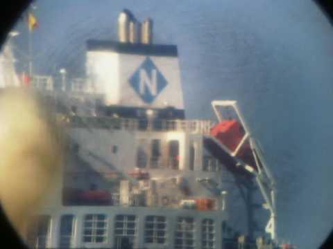 Tanker Ship GAZ VENTURE (PANAMA).  Port Zahrani. South Governate. Lebanon. 06 February 2017.