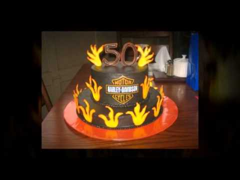 50th birthday cakes for men YouTube