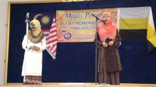 pantun (penutup kemerdekaan) SMK DOKTOR BURHANUDDIN 2013.