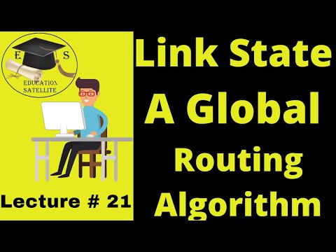 Link State A Global Routing Algorithm