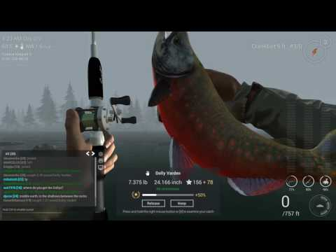 Fishing Planet - Unique Bull Trout, Dolly Varden, Pink Salmon, Unique Chinook,  Longnose Sucker.