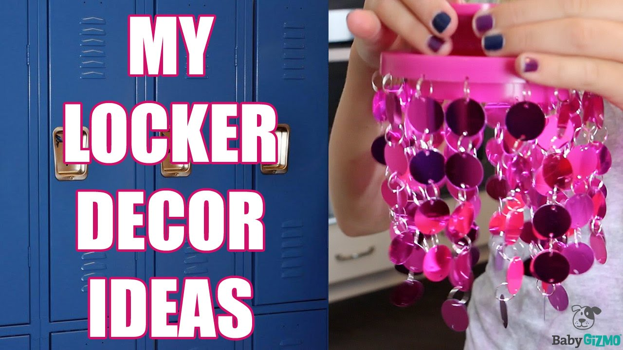 Locker Ideas my middle school diy locker ideas! - youtube