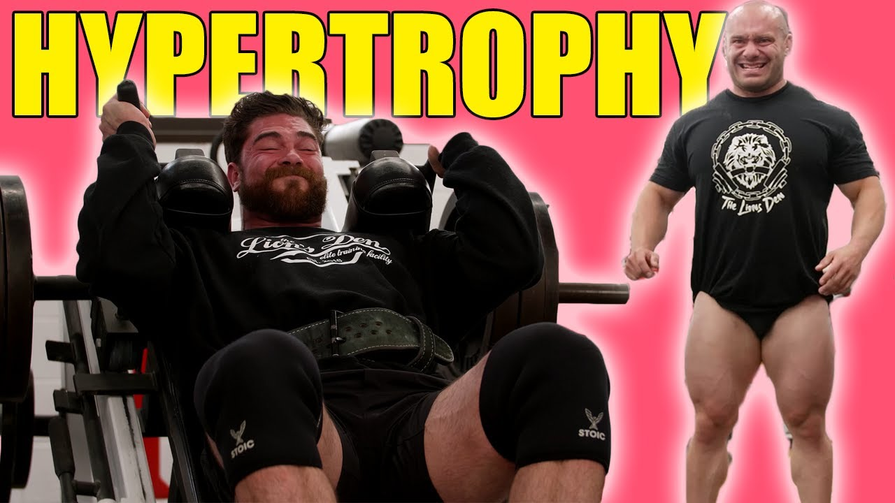Hypertrophy Training With Mike Israetel & Nutrition tips (strongman tries BODYBUILDING)
