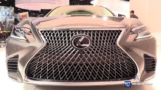 2018 Lexus LS 500 - Exterior and Interior Walkaround - 2017 Detroit Auto Show