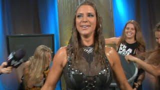 "Stephanie McMahon accepts the ""Ice Bucket Challenge"""