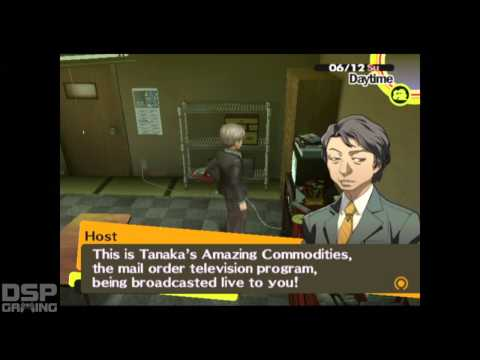 Persona 4 playthrough pt66 - Nanakos Death Discussion/Hot MILF!/Yukiko Dating