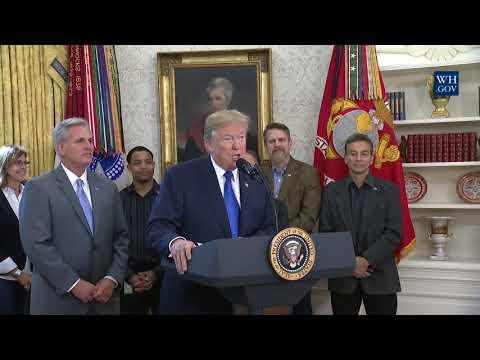 President Trump Makes a Jobs Announcement