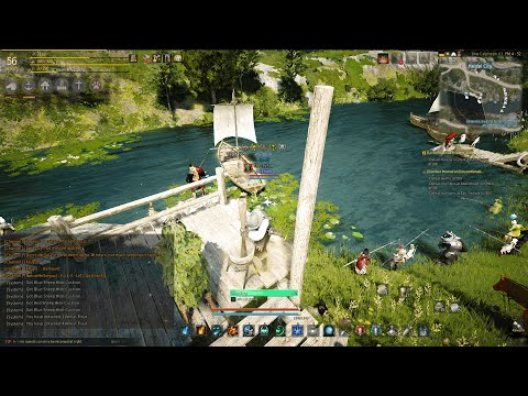 Maxing out processing in Black Desert Online AFK 1080p MAX