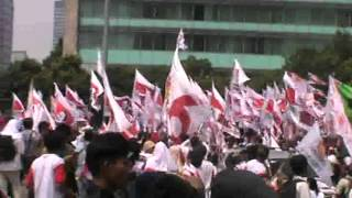 Geindra Kab Bekasi @Demo PILPRES 2014