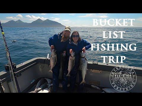 EPIC FISHING TRIP IN HOMER, ALASKA!