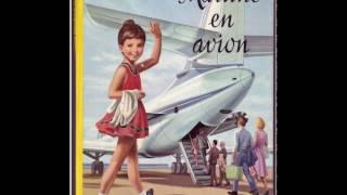 Маруся и весёлая поездка. На самолете. Martine en avion.
