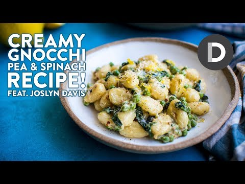How to make... Creamy Gnocchi with Pea & Parmesan!