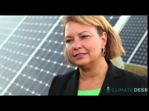 Apple goes green with solar-powered data centres – video
