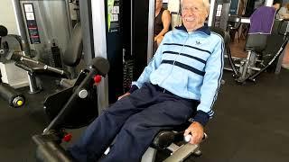 Фитнес..85 лет!!!