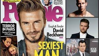 Дэвид Бекхэм признан «Самым сексуальным мужчиной мира 2015»