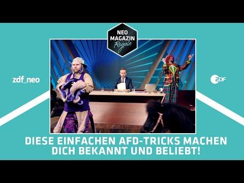 AUFMERKSAMKEITSÖKONOMIE: <br>Jan Böhmermann erklärt die Theorie anhand Trump, Clinton und der AfD