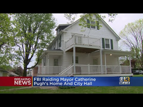 UPDATE: FBI, IRS Searche Baltimore Mayor Pugh's House, Multiple Other Locations