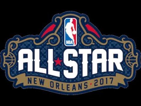 NBA 2K17 PS4 - East All Stars vs West All Stars - Full Game - Simulation Nation