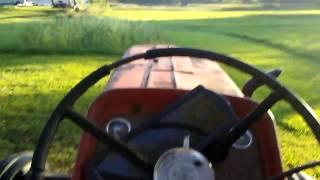 Running the MF 175 diesel