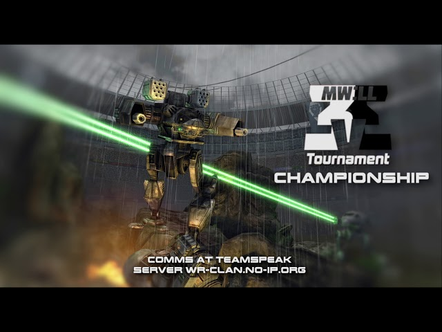 Mechwarrior Living Legends ThreeV3 Tournament Third Place Game Post Game Show