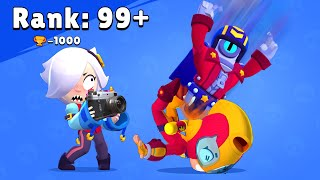Rank 99+ Max Streetwear vs Ronin RUFFs Brawl Stars Funny Pose Animation #stu
