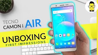 Tecno Camon i Air - Unboxing and First Impressions!