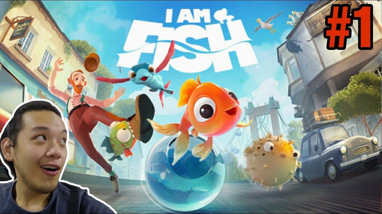 超可爱鱼儿逃生游戏 , 新鱼登场!(金鱼篇)#1 - I AM FISH 《我是小鱼儿》
