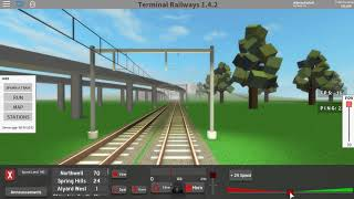Roblox Terminal Railways - DDZ - Rozlyn South to Alyard West - All Stops