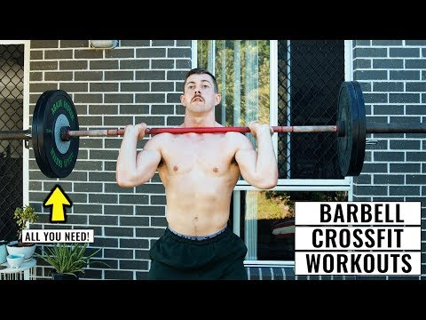 10 Of The Best CrossFit® Barbell Workouts Done From Home