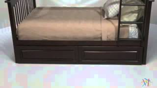 Columbia Full Over Full Bunk Bed - Product Review Video